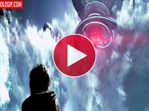 GIF: Observando las naves espaciales