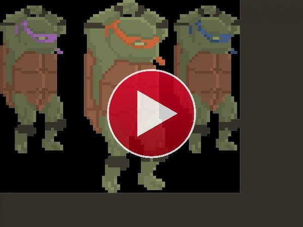 GIF: Baile ninja