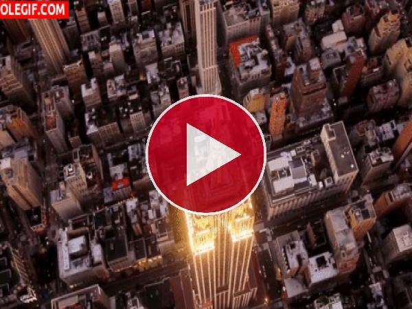 GIF: Viendo el Empire State