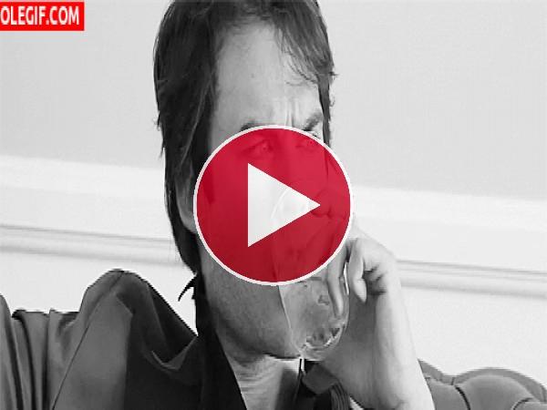 Ian Somerhalder tiene sed