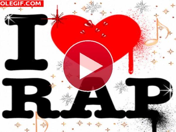 GIF: Amo el Rap