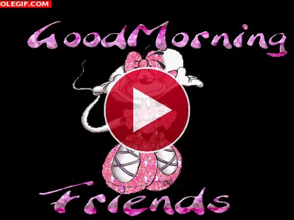 GIF: Buenos días amigos