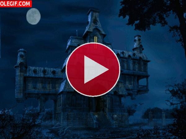 GIF: Noche en la casa embrujada