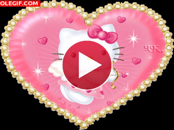 GIF: La adorable Hello Kitty