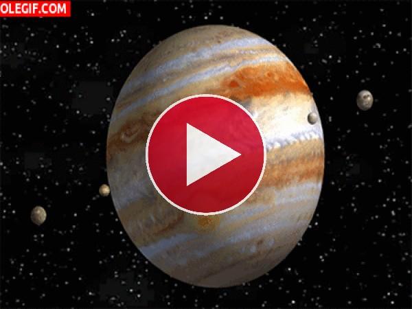 GIF: Planetas en movimiento