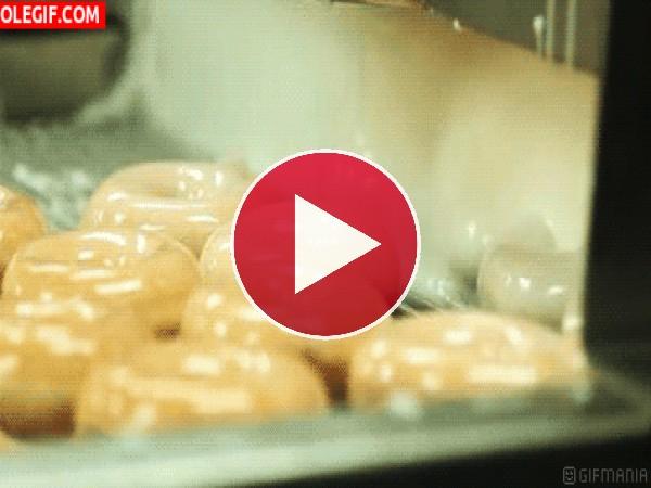 GIF: Glaseando donuts