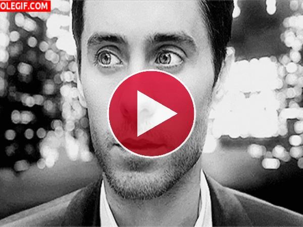 GIF: La mirada de Jared Leto