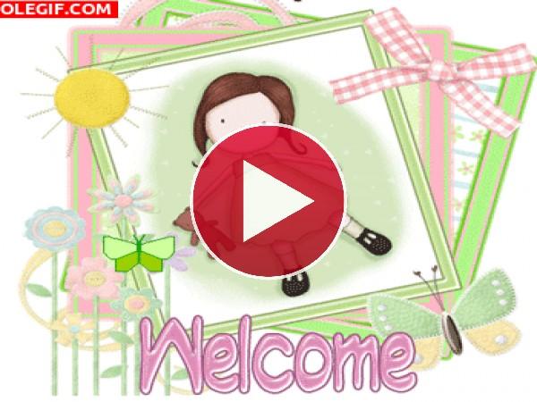 GIF: Bienvenido