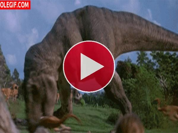 El ataque del tiranosaurio rex