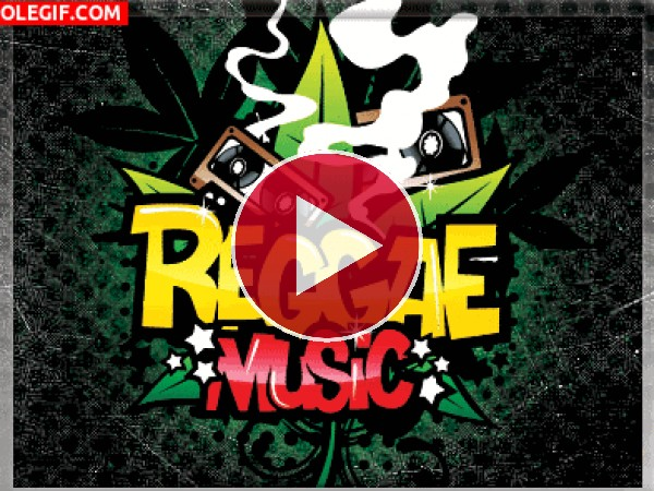 GIF: Música Reggae