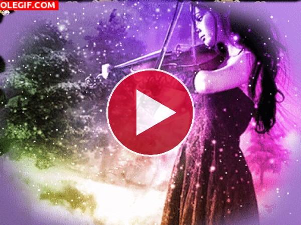 GIF: La magia del violín