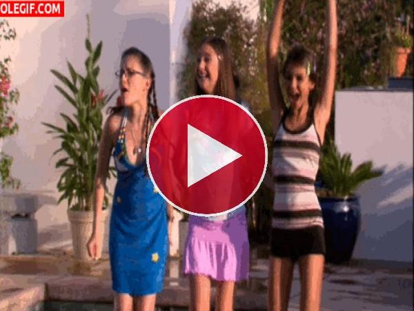GIF: Chicas animando
