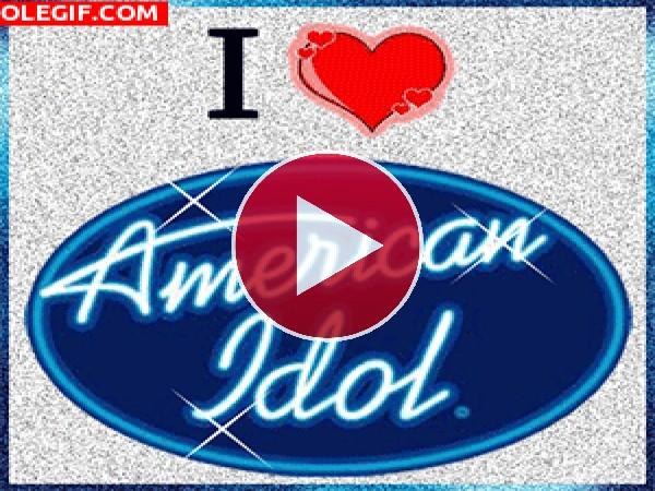 GIF: I love American Idol