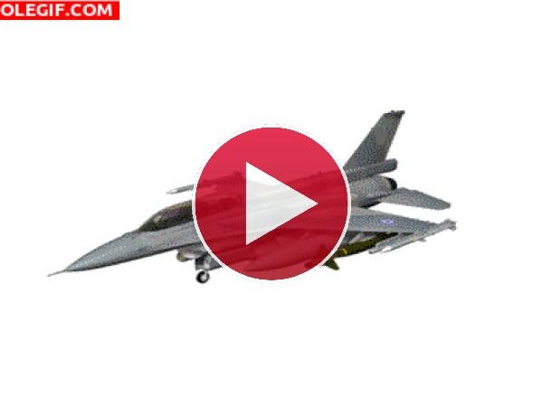 GIF: Lockheed Martin F-16