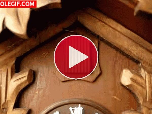 GIF: Reloj de cuco