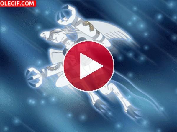 GIF: Gargoylemon (Digimon)