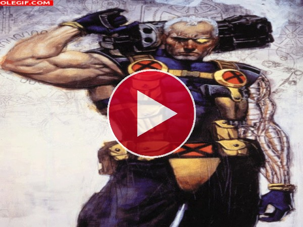 GIF: Cable (X-Men)