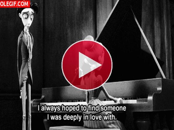 Siempre tuve la esperanza de encontrar a alguien del que estaba profundamente enamorada