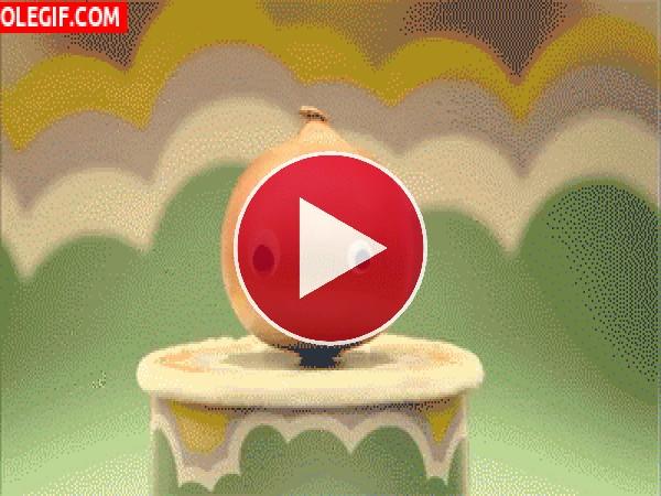 GIF: Cebolla enfadada