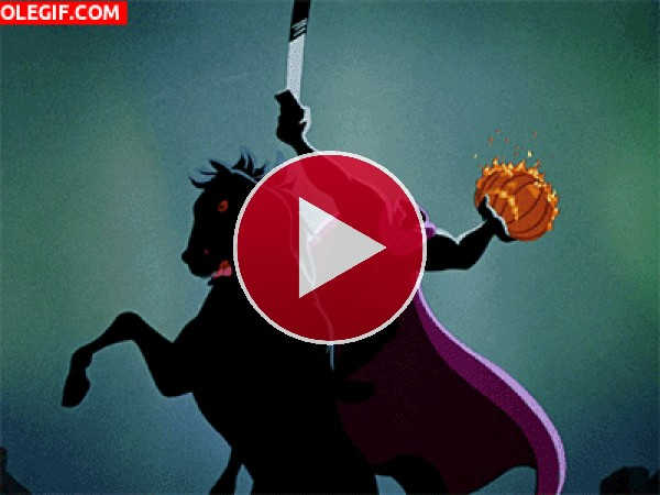 GIF: El jinete sin cabeza