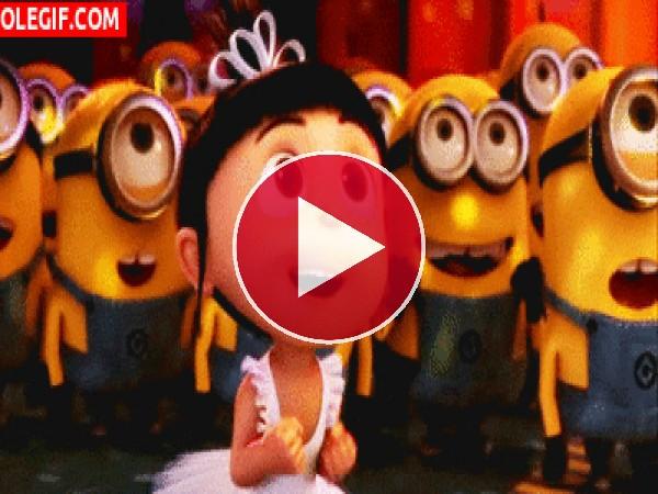 Agnes y los Minions