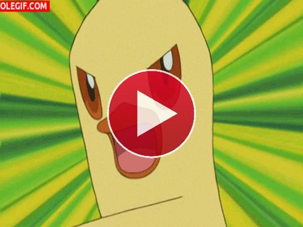 GIF: Combusken (Pokémon tipo fuego/lucha)