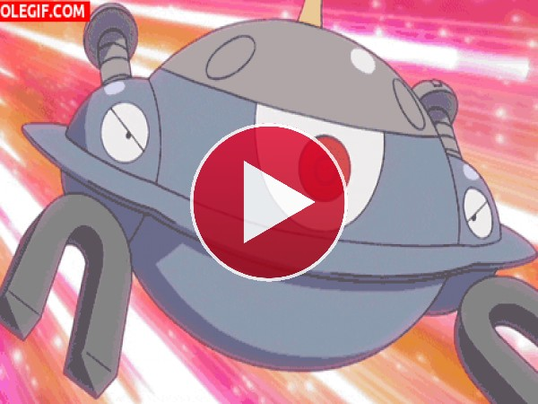 GIF: Magnezone (bomba sónica) - Pokémon