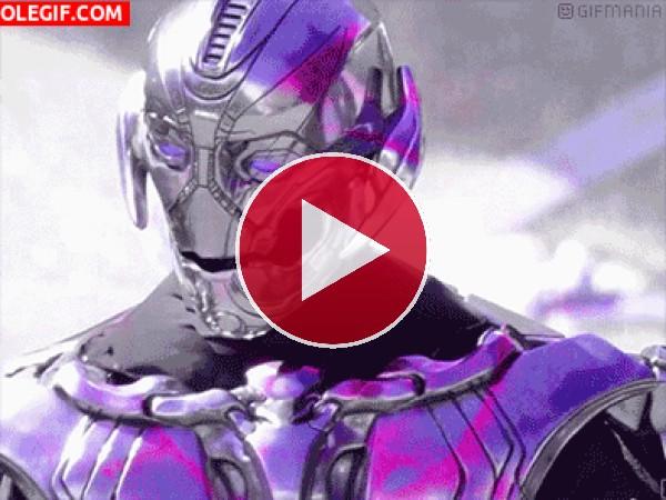 GIF: Robot Ultron