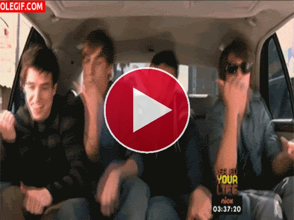 GIF: Los chicos de Big Time Rush