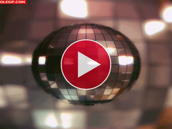 GIF: Bola de discoteca