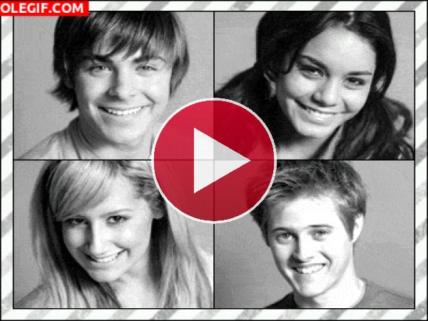 GIF: High School Musical