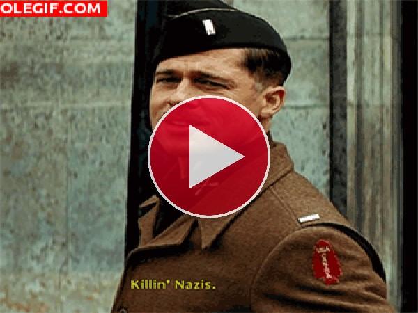 GIF: Matando nazis