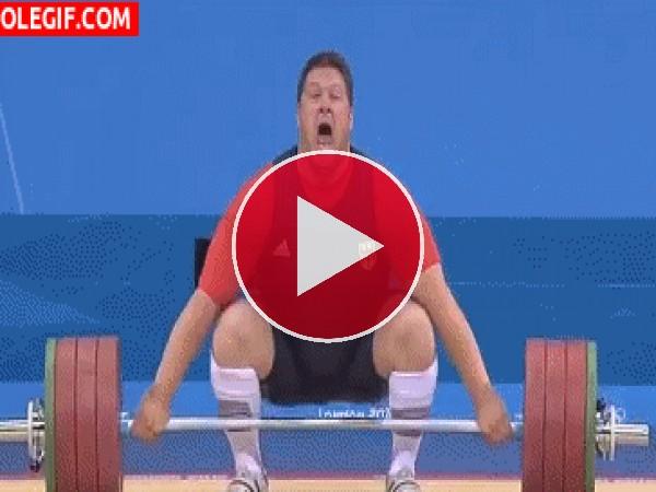 GIF: Levantando pesas