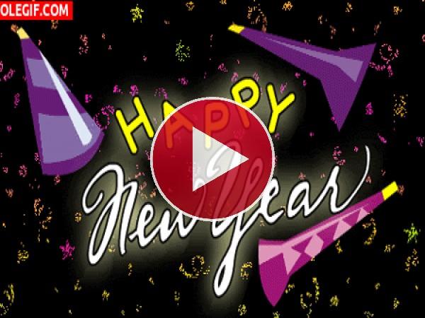 GIF: Feliz Año Nuevo