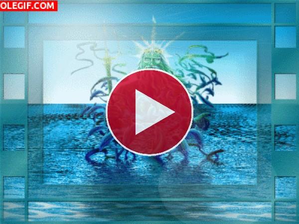 Dios Neptuno