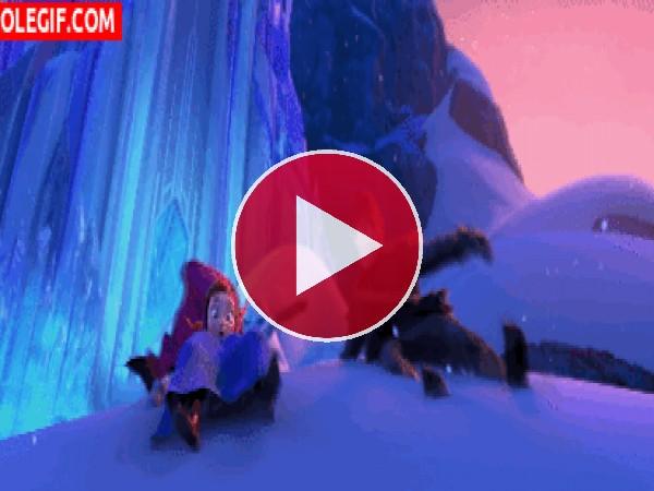 GIF: El monstruo del hielo